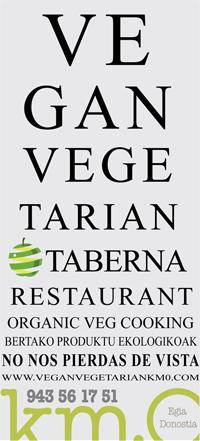 Km. 0 Vegan Vegetarian Restaurant San Sebastián