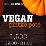 Ostiraletan… | Los viernes… Vegan Pintxo Pote!!!