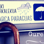 Gure txoko txikik: Atarki aparkalekua | Aparca paraguas