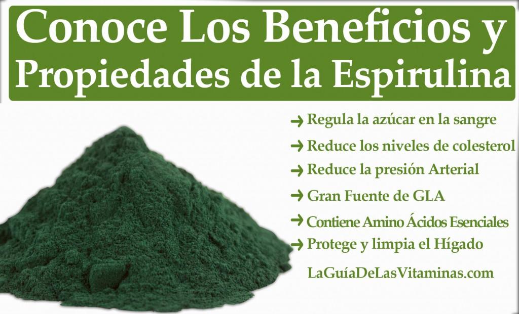 ... que el alimento sea tu medicina: el alga espirulina