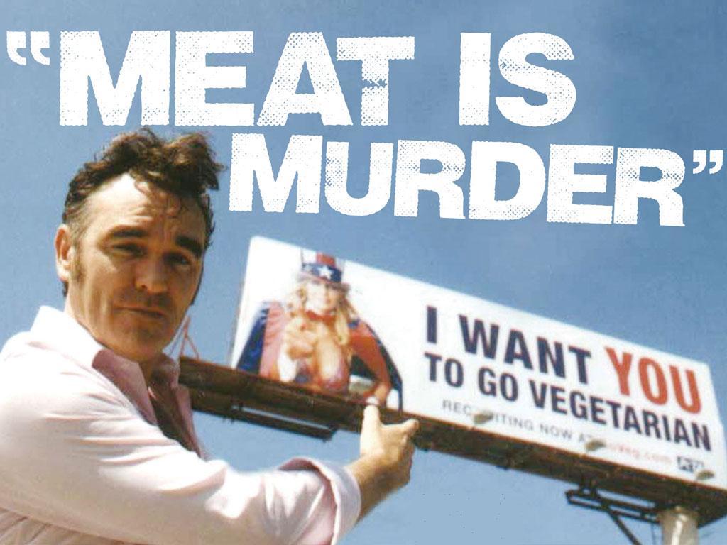 Morrisey, artista comprometido por los derechos de los animales