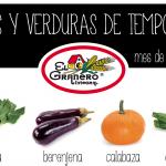 Garaian garaikoa | Calendario de frutas y verduras de junio