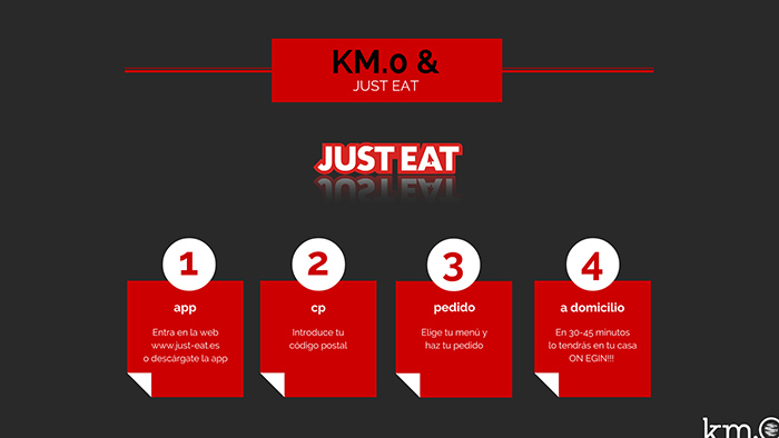Km0 & Just Eat