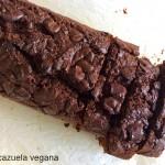 Las recetas de km.0: El bizcocho de chocolate vegano de La cazuela vegana