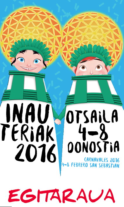 Donostiako Inauteriak 2016 Egitaraua