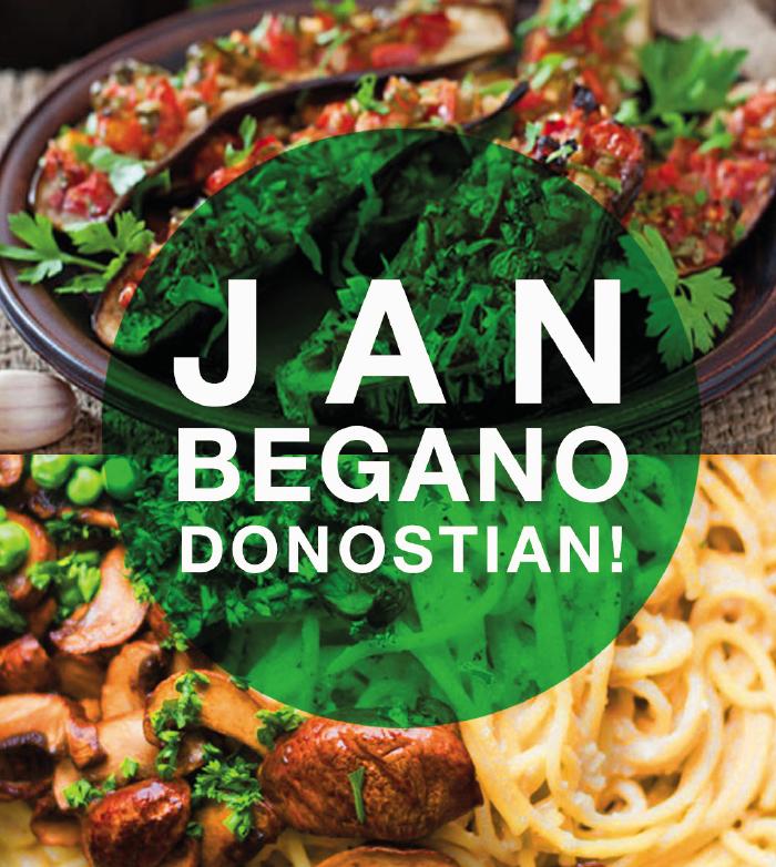 Jan Begano Donostian | Come vegano en Donostia by Askekintza Liberación Animalista