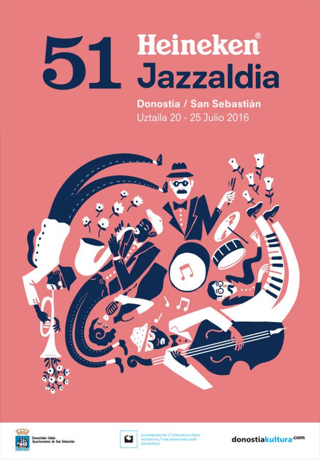 Donostia Jazzaldia 2016 Festival de Jazz de San Sebastián 2016