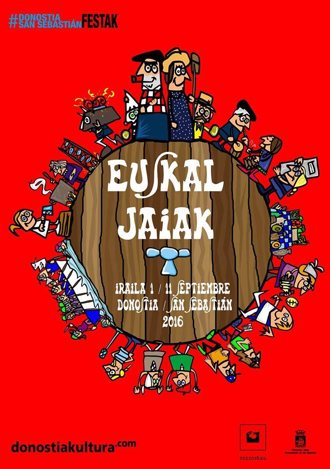 Euskal Jaiak 2016 Egitaraua