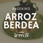 Las vídeo-recetas de Km.0: arroz verde con algas
