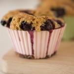 Las recetas de Km.0: Muffins veganos de chocolate y arándanos
