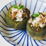 Las recetas de km.0: Alcachofas rellenas by Green Sandra