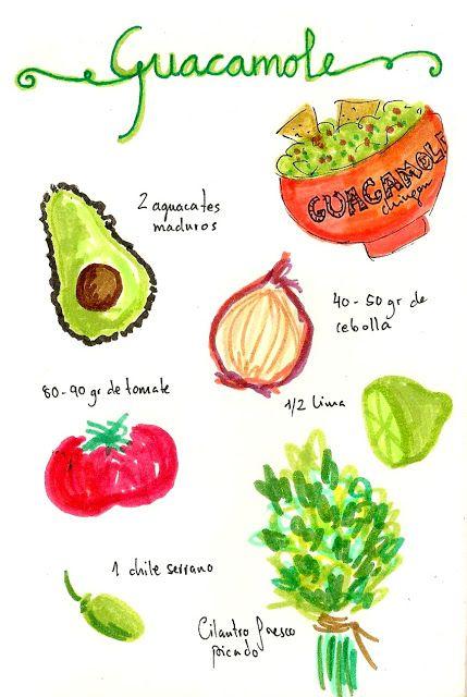 Recetas veganas guacamole by gastroandalusi