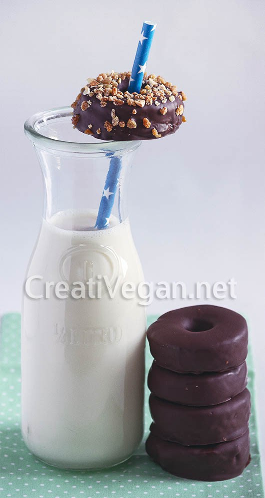 Aros veganos de chocolate by creativegan
