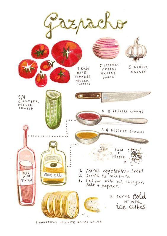 Las recetas ilustradas de Felicita Sala
