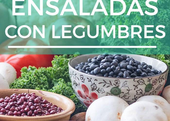 10 ensaladas veganas con legumbres