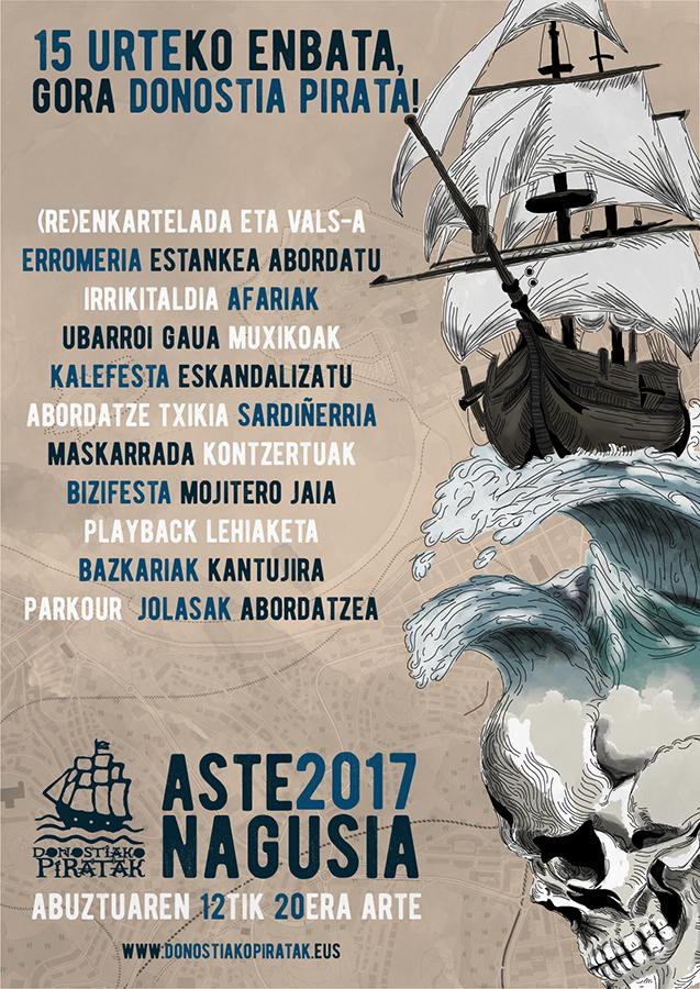 Aste Nagusi Pirata 2017