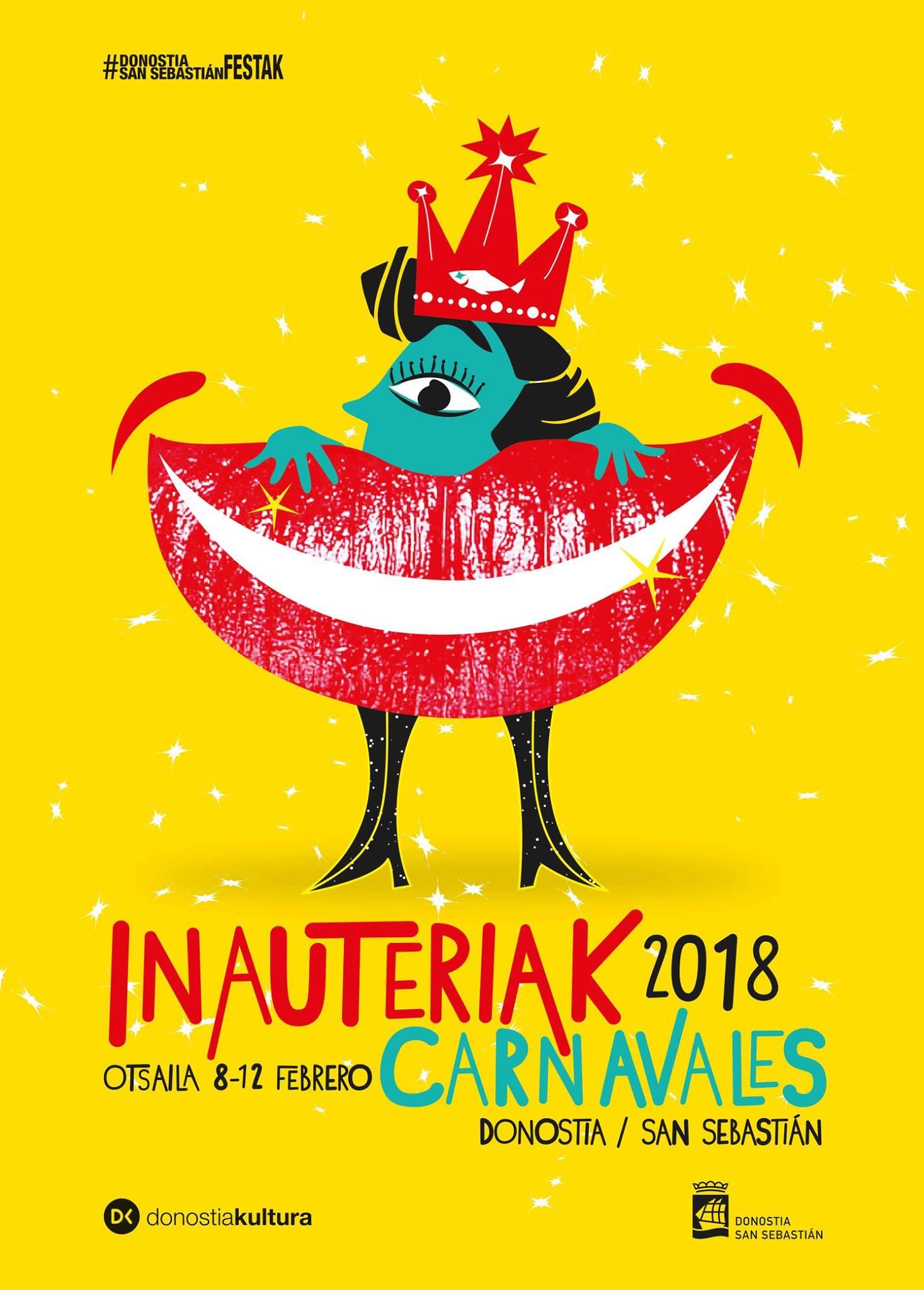 Donostiako Iñauteriak 2018